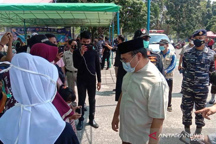 Gubernur apresiasi serbuan vaksin TNI AL di Pelabuhan Tanjungkalian