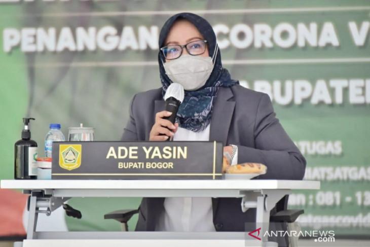 Kabupaten Bogor targetkan vaksinasi 8.575 warga setiap kecamatan per pekan