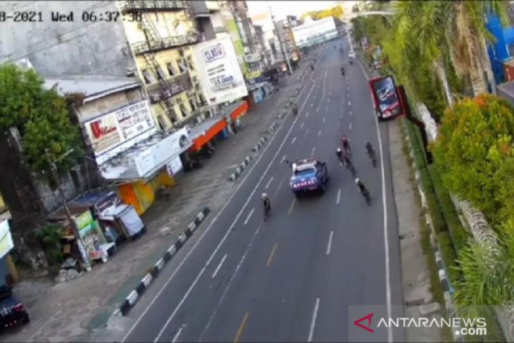 Sopir SUV penabrak pesepeda diamankan, melarikan diri karena takut dikeroyok
