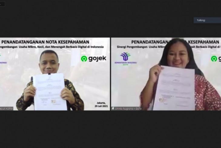 Kementerian Investasi-Gojek kembangkan UMKM berbasis digital