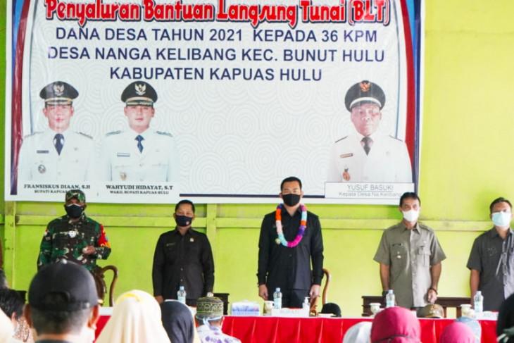 Bupati Kapuas Hulu: Penyaluran BLT di desa mesti tepat sasaran