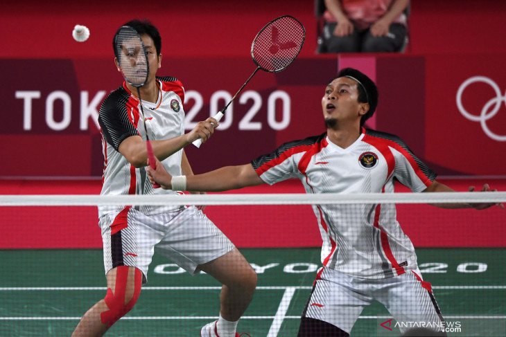 The Daddies dihentikan Lee/Wang di semifinal Olimpiade Tokyo