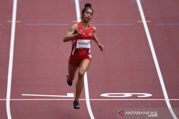 Alvin Tehupeiory melaju ke babak utama nomor 100 meter putri Olimpiade Tokyo 2020