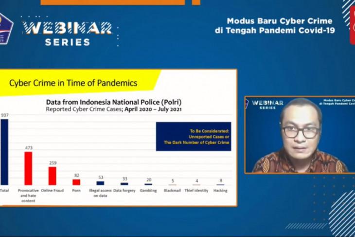 Dosen Kriminolog UI: Kejahatan siber semakin marak pada masa pandemi