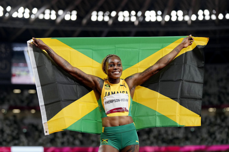 Olimpiade Tokyo: Jamaika sapu medali lari 100 meter putri