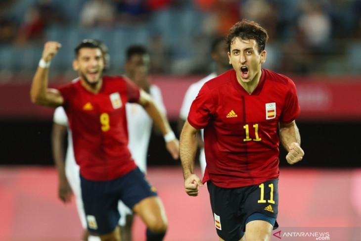 Spanyol ke semifinal usai gasak Pantai Gading 5-2