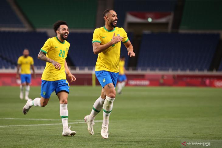 Kalahkan Mesir, tim sepak bola Brazil lolos ke semifinal Olimpiade Tokyo