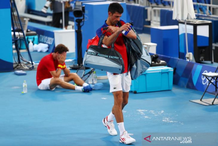 Pulihkan diri, Novak Djokovic mengundurkan diri dari Western & Southern Open