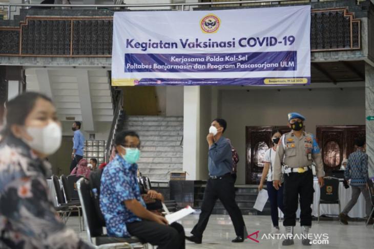 ULM has vaccinated 1,000 Banjarmasin residents