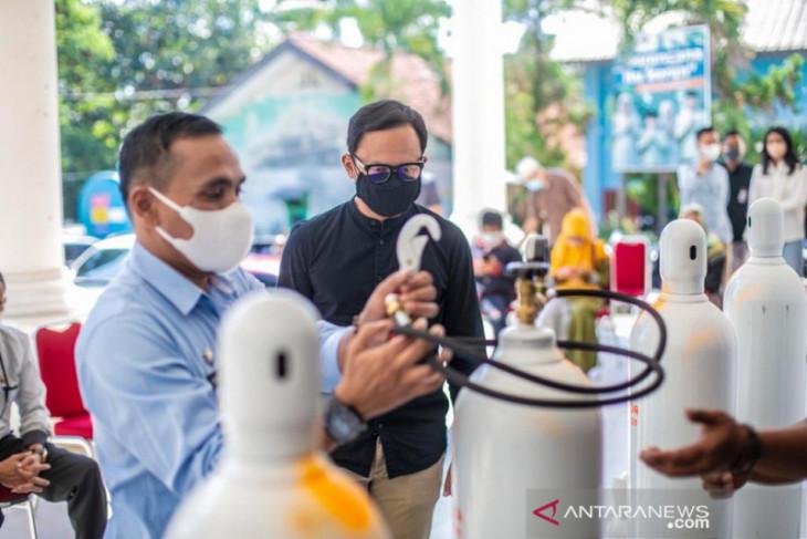 Wali Kota Bogor bangun sistem pelaporan ketersediaan oksigen
