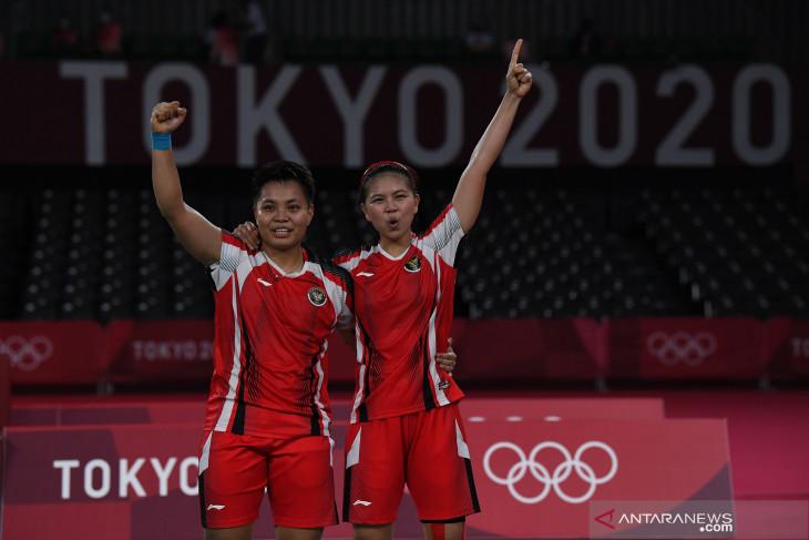 Cara main Greysia-Apriyani pelihara asa Indonesia raih emas Olimpiade Tokyo 2020
