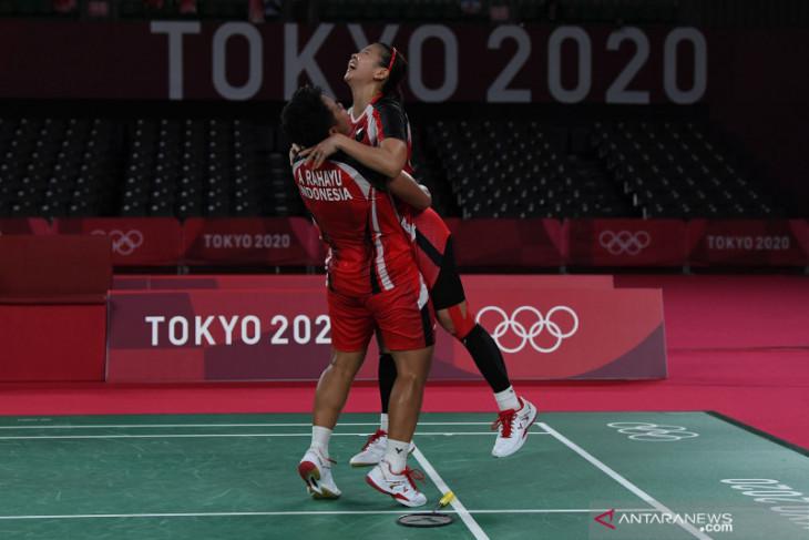 Olimpiade Tokyo: Greysia/Apriyani ungkap kunci kemanangan atas ganda Korea