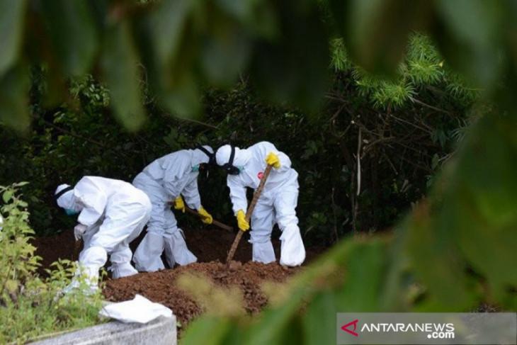 Kasus kematian akibat COVID-19 di Karawang bertambah 11 menjadi 1.628 orang