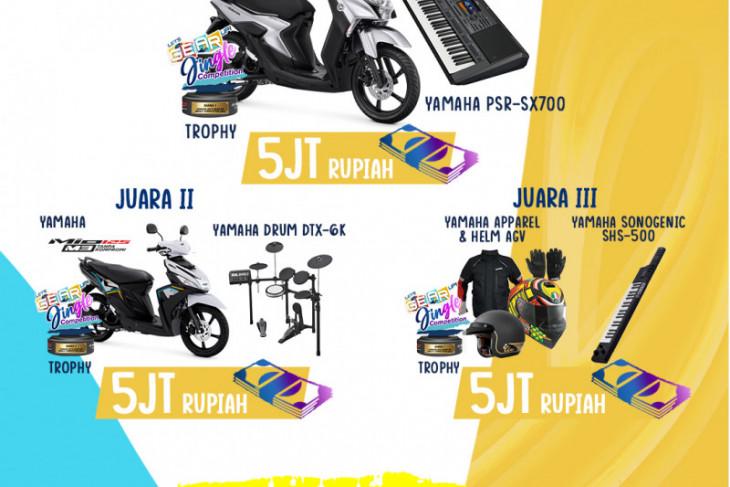 Yamaha bagikan hadiah Lets GEAR Up Jingle Competition