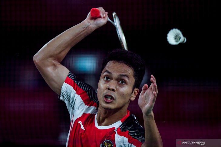 Piala Thomas - Ginting buka keunggulan Indonesia 1-0 atas Taiwan