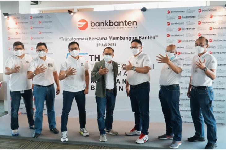 Gempita HUT Kelima Bank Banten, Gelorakan Transformasi dan Digitalisasi Perusahaan