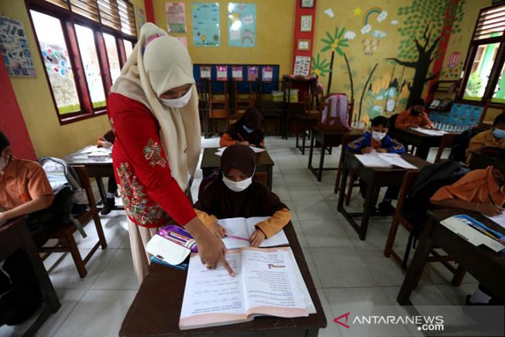 Sekolah Tatap Muka Terbatas di Banda Aceh