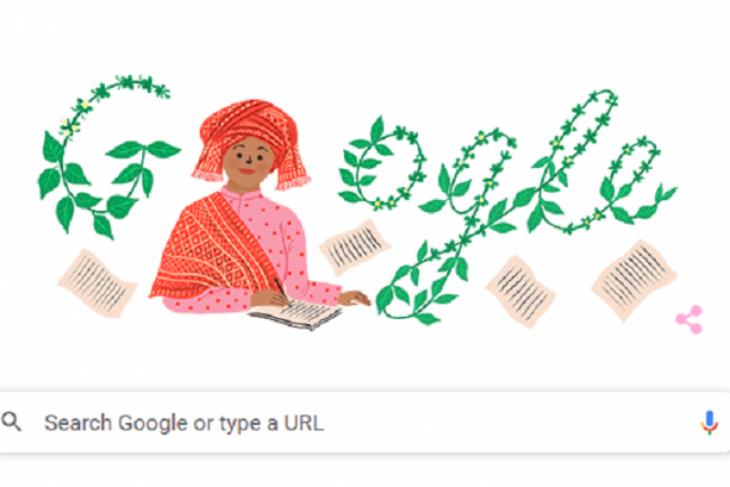 Google Doodle  tampilkan sosok penulis Sariamin Ismail