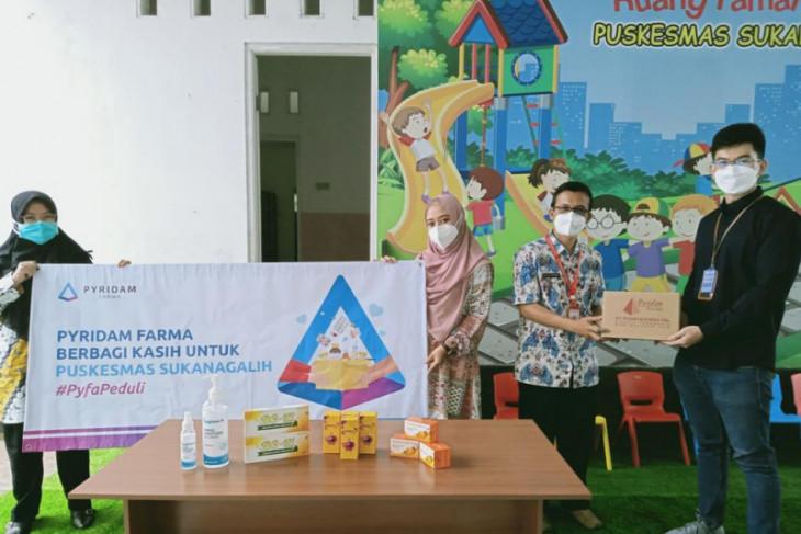 PT Pyridam Farma Tbk bagikan vitamin gratis