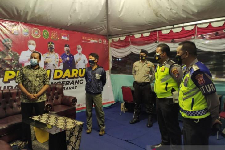 Ombudsman Banten Pantau Pelaksanaan PPKM Level 4 di Kab. Tangerang.