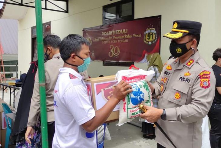 30 tahun Akpol 91, jajaran Polda Aceh gelar bakti sosial