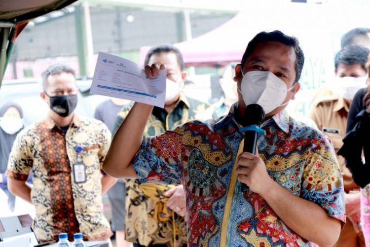 Wali Kota Tangerang berharap Pasar Jatiuwung mampu tingkatkan perekonomian