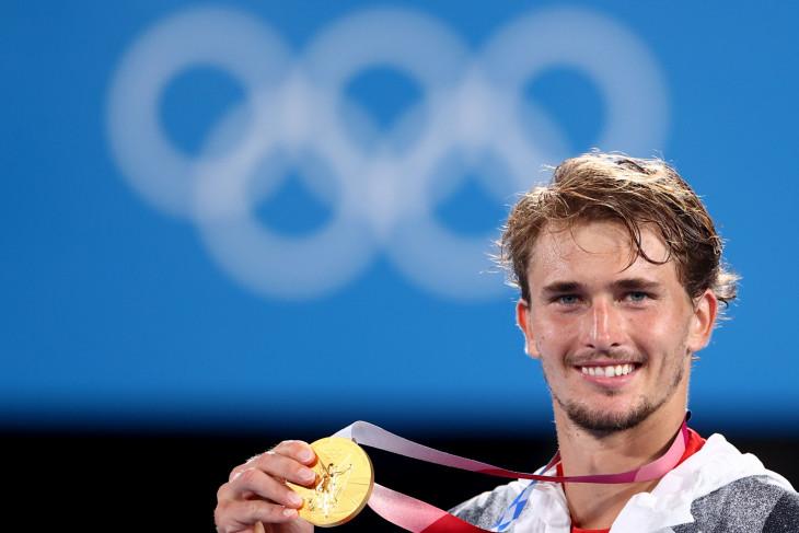 Zverev sabet emas tunggal putra tenis Olimpiade