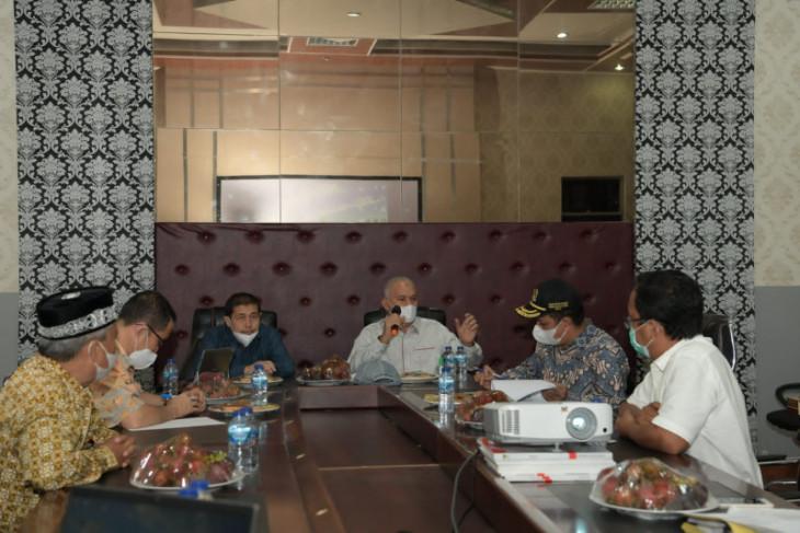 Sekda Bahas Percepatan Vaksinasi COVID-19 dengan tujuh Bupati/Wali Kota di Aceh