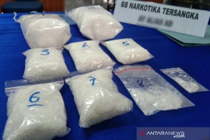 Polisi Sultra ungkap peredaran sabu-sabu 5,6 kg