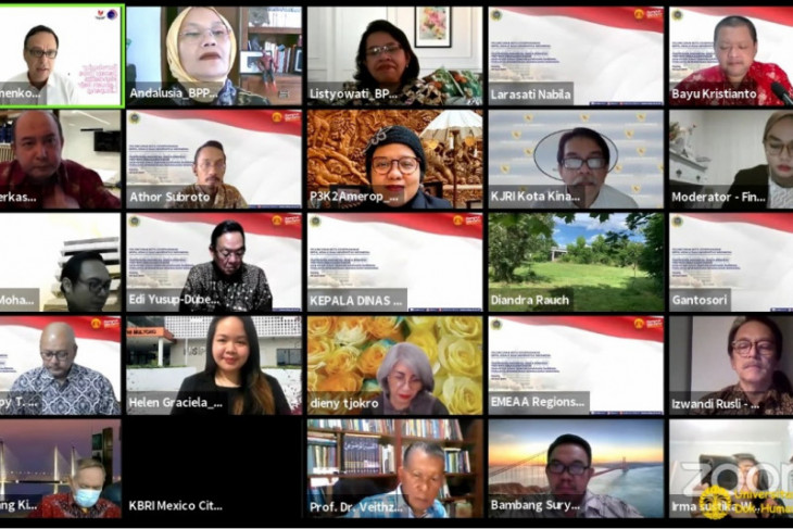 SKSG UI dan BPPK Kemenlu perkuat kerja sama pemulihan pariwisata Indonesia