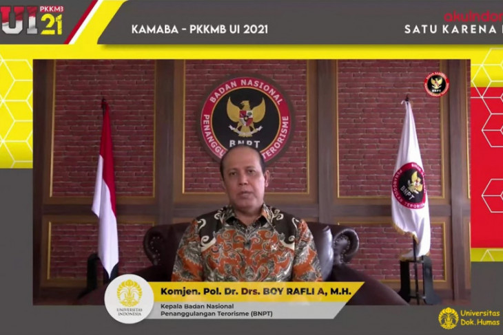 Kepala BNPT: Harmoni dalam kebhinekaan untuk tangkal radikalisme