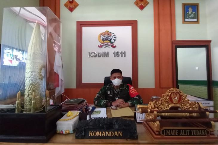 Kodim Badung-Bali distribusikan 2.150 paket sembako selama PPKM
