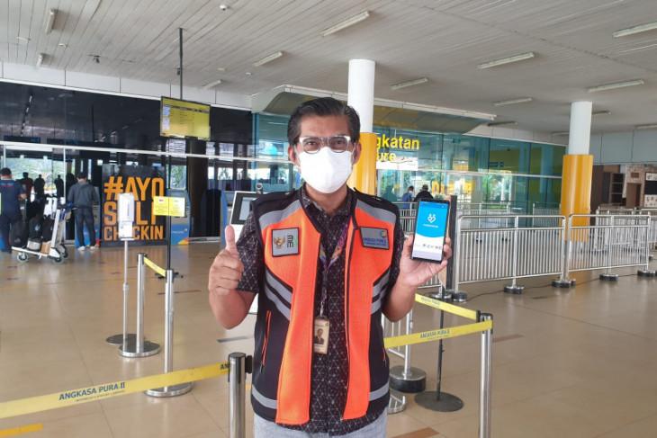 Penumpang di Bandara Sultan Thaha Jambi wajib miliki aplikasi Peduli Lindungi