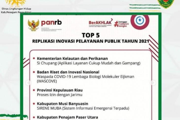 Program bank sampah Penajam masuk TOP 5 Nasional