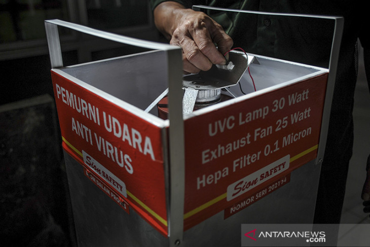 Inovasi pemurni udara anti virus