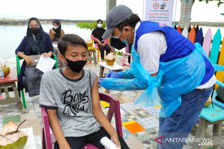 SMSI Pandeglang apresiasi vaksinasi di Coconut Island Labuan