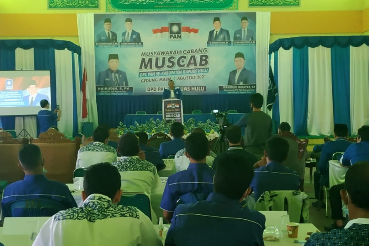 Pileg 2024 PAN targetkan delapan kursi DPRD Kapuas Hulu