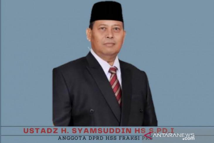 Ketua Fraksi PKS DPRD Kabupaten HSS, Haji Syamsudin berpulang