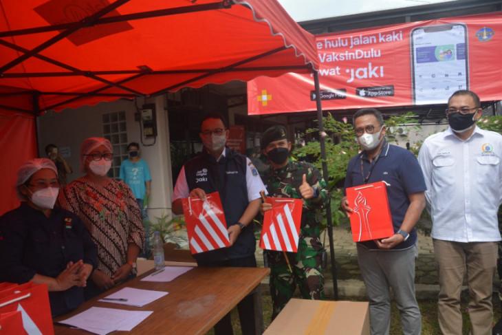 Anies apresiasi kolaborasi Bank DKI tangani COVID-19