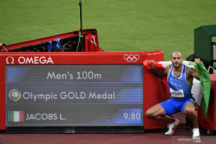 Olimpiade Tokyo: Sprinter Italia Marcell Jacobs rebut medali emas