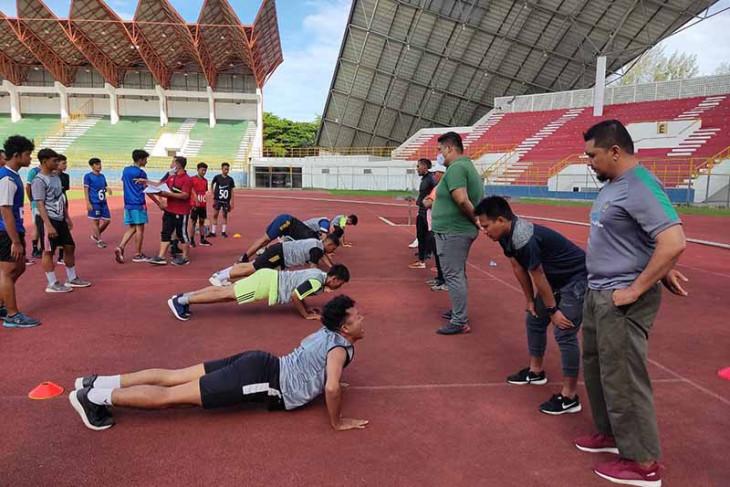 Pemain futsal Kota Banda Aceh jalani tes fisik