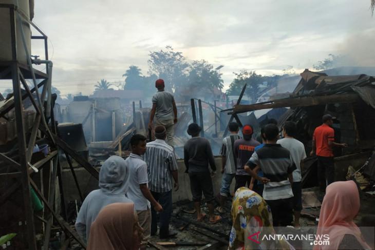 Kerugian akibat kebakaran di Subulussalam ditaksir capai Rp2 miliar
