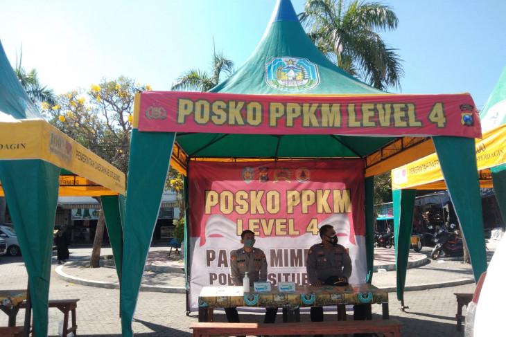 Kawal prokes, Polres Situbondo dirikan posko di pasar tradisional