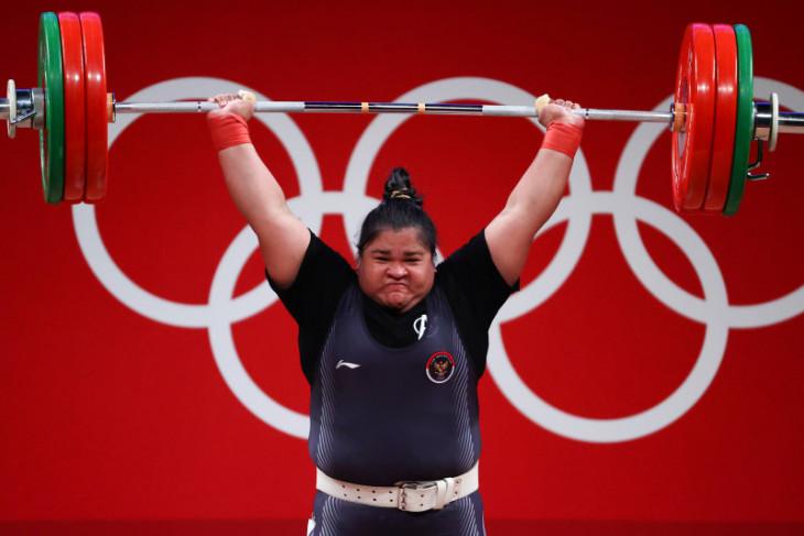 Olimpiade Tokyo, Nurul Akmal finis posisi kelima, Lifter China raih emas kelas +87kg