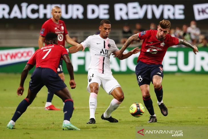 Lille hancurkan dominasi PSG di Trophee Des Champions