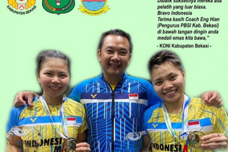 KONI Kabupaten Bekasi puji kehebatan pelatih Eng Hian