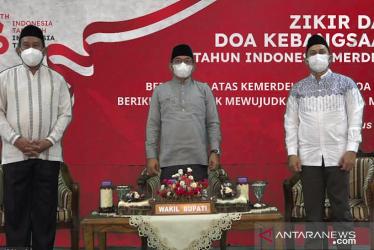 Wabup HSS ikuti zikir dan do'a kebangsaan Indonesia merdeka