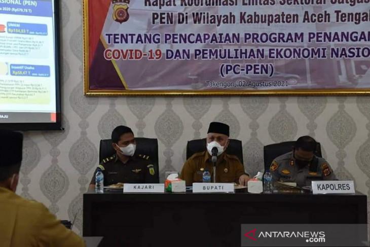 Polres Aceh Tengah dorong kelancaran distribusi belanja daerah tangani COVID-19