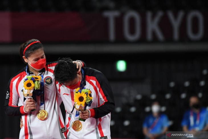 Olimpiade Tokyo, Greysia/Apriyani banjir bonus, mulai uang tunai hingga gerai bakso
