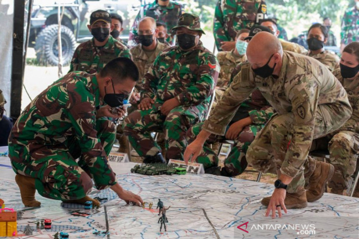 Indonesia-AS perkuat kemitraan melalui latihan militer Garuda Shield 2021